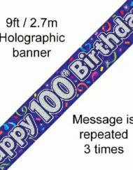 100th Birthday Banner-0