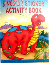 Dinosaur Sticker Activity Book-0