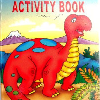 Dinosaur Sticker Activity Book-0