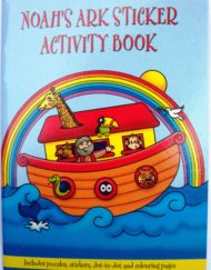 Noah's Ark Sticker Activity Book-0