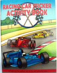 Racing Car Sticker Activity Book-0