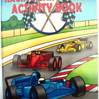 Racing Car Sticker Activity Book-0