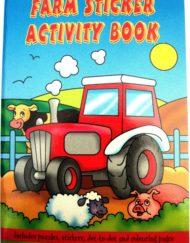 Farm Animals Sticker Activity Book-0