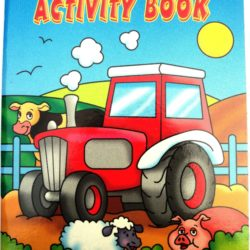Farm Animals Sticker Activity Book-0