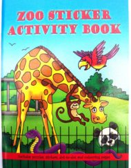 Zoo Sticker Activity Book-0