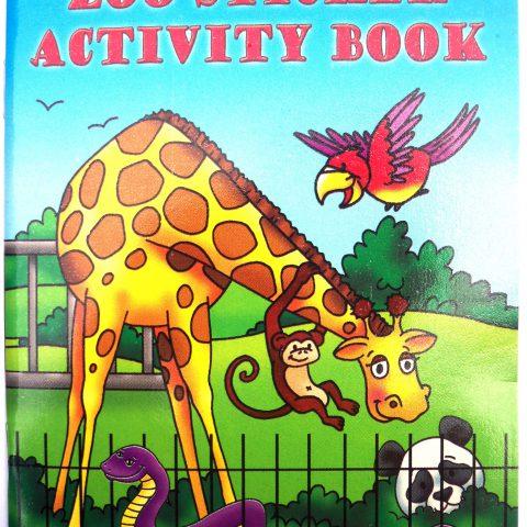 Zoo Sticker Activity Book-0
