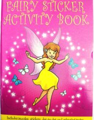 Fairy Sticker Activity Book-0
