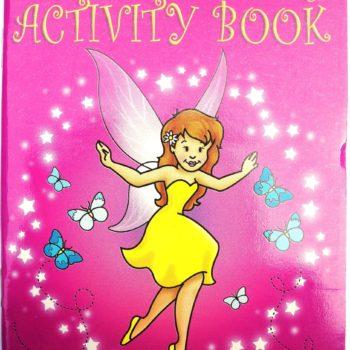 Fairy Sticker Activity Book-0