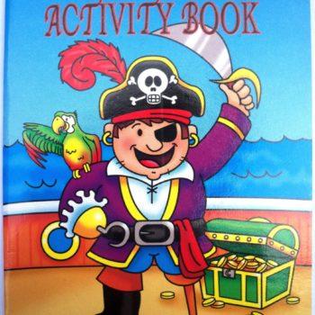 Pirate Sticker Activity Book-0