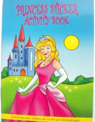Princess Sticker Activity Book-0