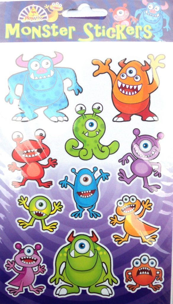 Monster Stickers-0