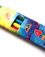 4 Mini Colour Pencils-0