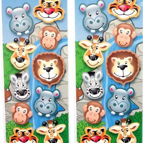 Wild Animal Stickers-0