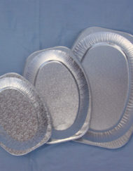 43cm Oval Foil Platter-0