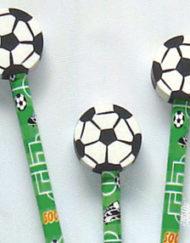 Football Pencil & Eraser-0