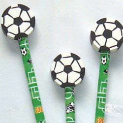 Football Pencil & Eraser-0
