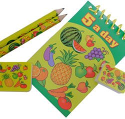 5 A Day Stationery set-0