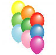 "10"" Plain Latex Balloons (£8.00 /100)-606"