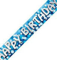 Birthday banner Blue-1172
