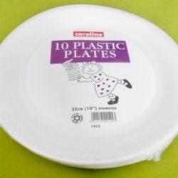 "10 x 10"" Foam (Polystyrene) Plates-0"