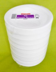 Polystyrene Bowls 50 x 8 oz-0