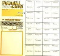 Football Team Cards 40 Games-0