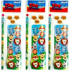 Mini Wild Animal Stationery Set-0