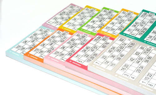 Bingo Flyer Pads 12 to View-0