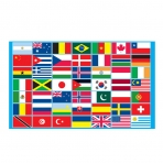 Multi Nations Flag-0