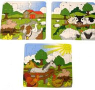 Puzzle Farm Animals-0