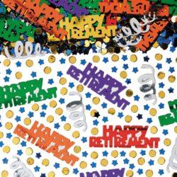 Happy Retirement Confetti -0