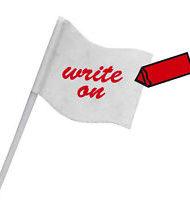 10 White Sandwich Flags-0