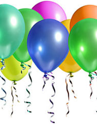 "10"" Plain Latex Balloons (£8.00 /100)-0"
