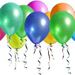 "10"" Plain Latex Balloons (£8.00 /100)-0"