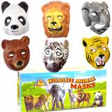 Plastic Wild Animal Mask-0