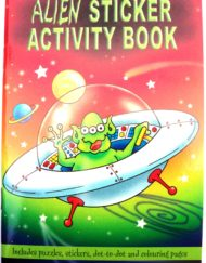 Alien Sticker Activity Book-0