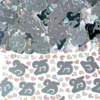 25th Anniversary Confetti -0