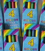 4 Wax Crayons-0