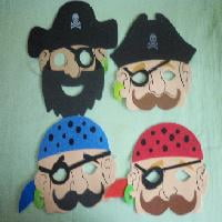 EVA foam pirate masks -845