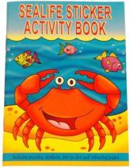Sea life sticker activity book-0