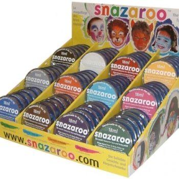 Snazaroo range of water based face paint-1923