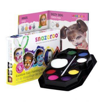 Snazaroo Rainbow Face Paint Kit-0