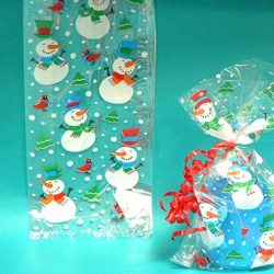 Christmas Cellow bags(Pack of 20)-1459