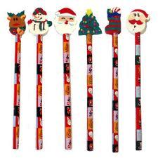 Christmas Pencil & Eraser-0