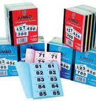 Raffle books Jumbo brand 1- 1000-0
