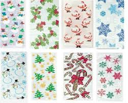 Christmas Cellow bags(Pack of 20)-0