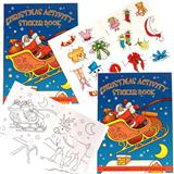 Christmas Activity Sticker Book-0