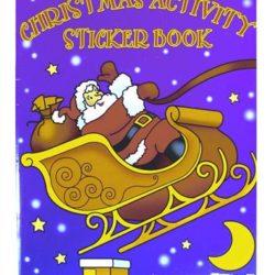Christmas Activity Sticker Book (A4 size)-0