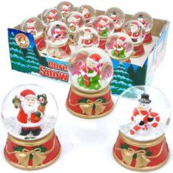 Christmas Snow Globe-0