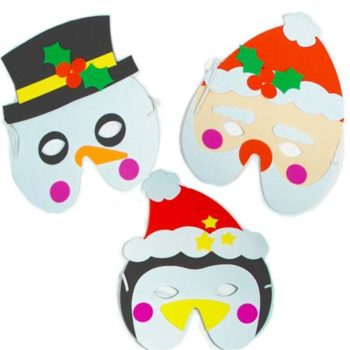 Christmas soft foam masks-0